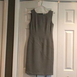 Gray shell dress
